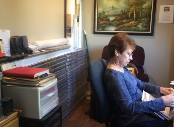 Nelda in office
